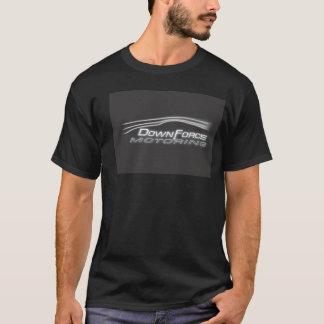 Downforceの自動車に乗るワイシャツ Tシャツ