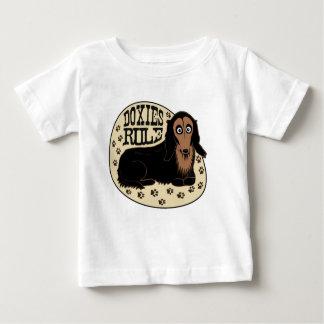 Doxiesの規則の乳児の服装 ベビーTシャツ