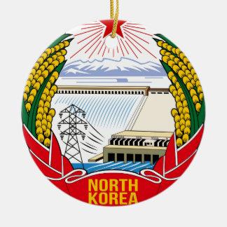 DPRK (北朝鮮)の紋章 セラミックオーナメント