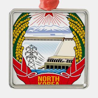 DPRK (北朝鮮)の紋章 メタルオーナメント