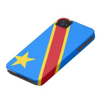 DRコンゴの旗のiphone 4ケース Case-Mate iPhone 4 ケース