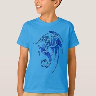 Dragissous V1 -青いドラゴン Tシャツ