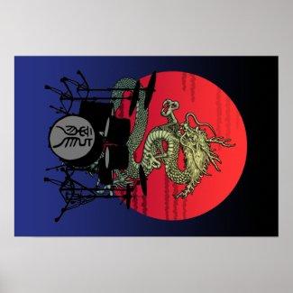 Dragon Drum1 プリント