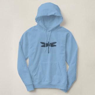 「Dragon-Fly_Woman's_Hooded_Sweatshirt パーカ