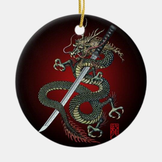 Dragon katana セラミックオーナメント