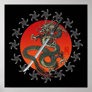 Dragon katana 2 ポスター