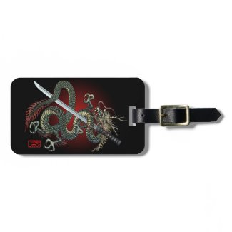 Dragon katana トラベルバッグ用タグ