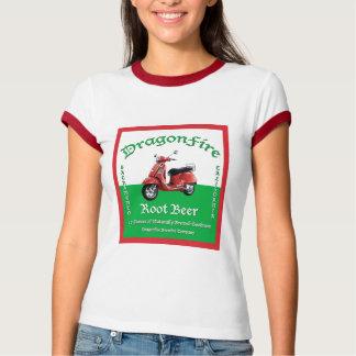 DragonFireのルートビアの女性のワイシャツ Tシャツ