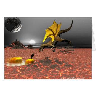 DragonFireの挨拶状 カード