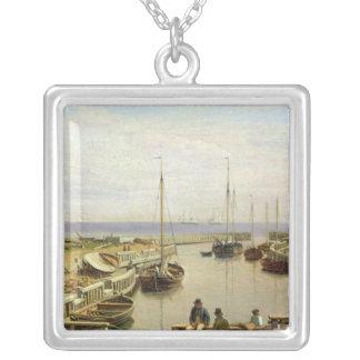 Dragor 1826年の港 シルバープレートネックレス