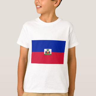Drapeauのd'Haïti -ハイチの旗 Tシャツ