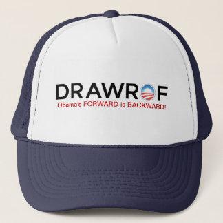 DRAWROF -前方バラック・オバマは後方の帽子です キャップ