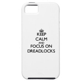 Dreadlocksの平静そして焦点を保って下さい iPhone SE/5/5s ケース