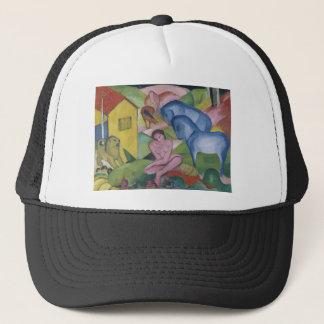 「Dreamと資格を与えられるヴィンテージのファンタジーの絵を描くこと キャップ