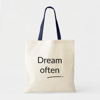 Dream Often Bag トートバッグ
