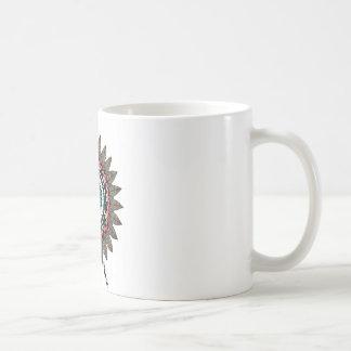 Dreamcatcherの曼荼羅 コーヒーマグカップ