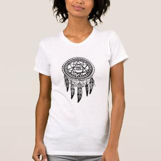 Dreamcatcherの視野の探求の曼荼羅 Tシャツ