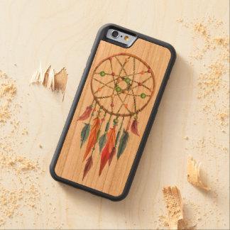 Dreamcatcher CarvedチェリーiPhone 6バンパーケース