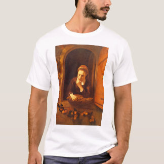 Dreaming', Nicolaes Maes_Dutchのマスター Tシャツ