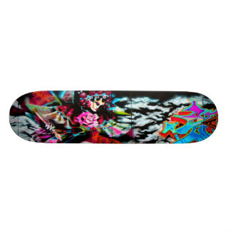 Dreamz -通りの芸術Sk8のデッキ武士 スケートボード