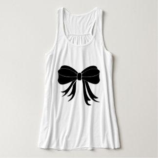 """Dress_Up (c) _白黒い弓女性Tank_Shirts "" タンクトップ"