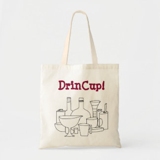 DrinCupのトートバック トートバッグ