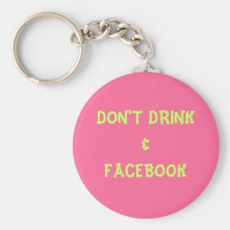 DRINK&FACEBOOKは キーホルダー