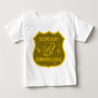 Drinking League秘書 ベビーTシャツ