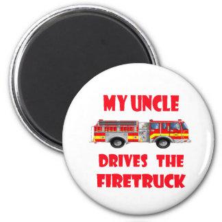 Drives私の叔父さん普通消防車 マグネット
