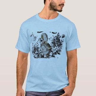 Droidのバストのデザイン Tシャツ