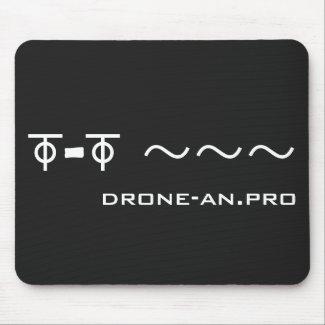 DRONE Flgiht マウスパッド