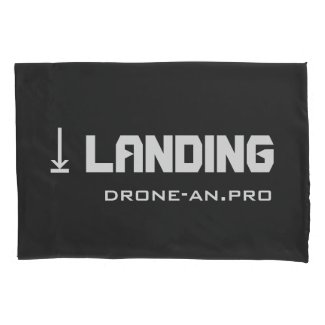 DRONE LANDING and FLIGHT 枕カバー