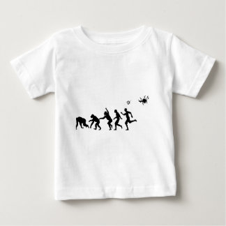 Droned進化 ベビーTシャツ