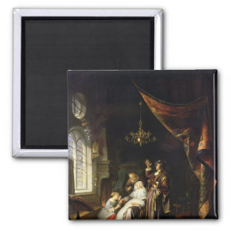 Dropsical女性、c.1663 マグネット