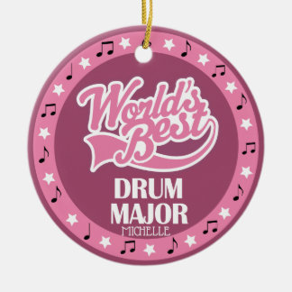 Drum Major Ornament Band Gift For Her セラミックオーナメント