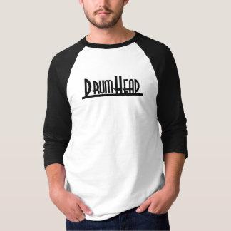 DrumHeadのクールな木炭 Tシャツ