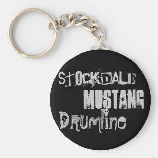 Drumlineのムスタング、Stockdale Keychain キーホルダー