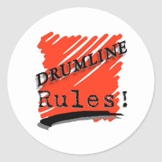 Drumlineの規則 ラウンドシール