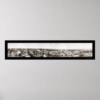 Drumrightオクラホマの写真1914年 ポスター