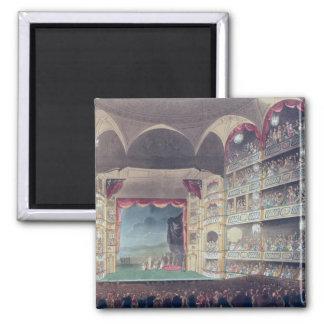 Druryの車線の劇場1808年のインテリア マグネット