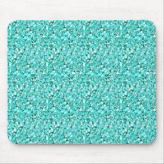 Druzyの水晶-アクアマリン青 マウスパッド