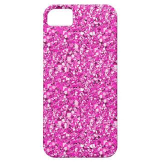 Druzyの水晶-明るい赤紫色のピンク iPhone SE/5/5s ケース