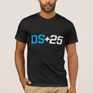 DS+25: 黒いTシャツ Tシャツ