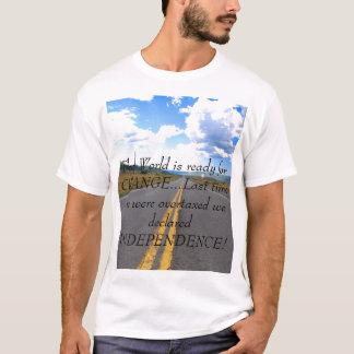 DSC_0098は、世界最後の変更の準備ができています…… Tシャツ