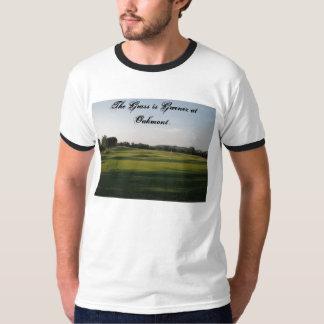 DSCF0071は、草Oakmontで緑…です Tシャツ