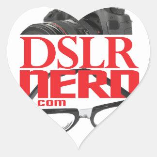 DSLRのおたく ハートシール