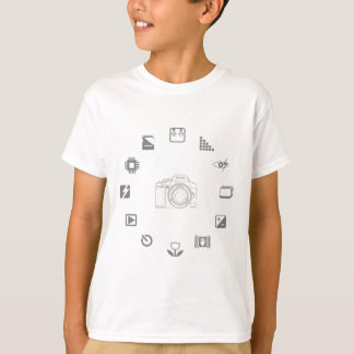 DSLRの特徴 Tシャツ