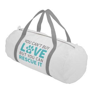 DTDRは白い愛Duffleバッグを買うことができません ジムバッグ