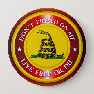 DTOM -生きている自由または2死にます(銅) 缶バッジ