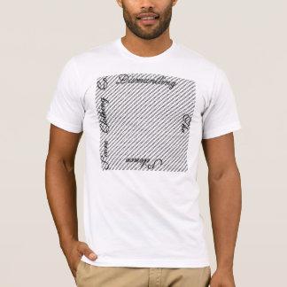 DTSを記録して下さい Tシャツ